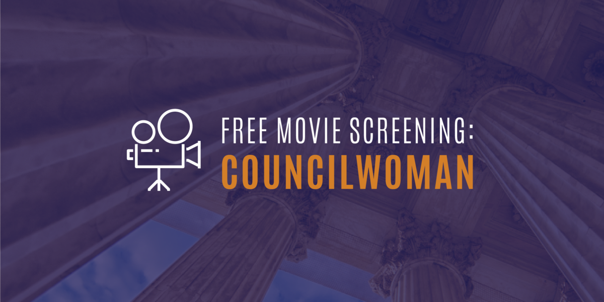 Free Movie Screening: Councilwoman